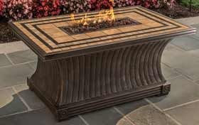 Agio Tuscan Fire Table