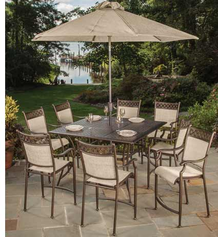Outdoor Furniture By Agio Manhattan Pelican Patio