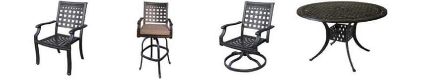 DWL Athens Patio Chairs & Table