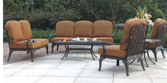 DWL Brentwood Patio Conversational Set