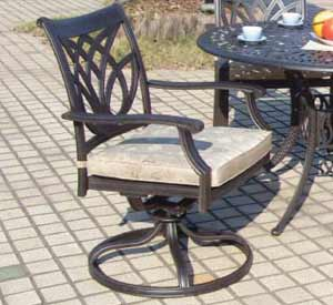 DWL Burlington Swivel Rocker Patio Chair