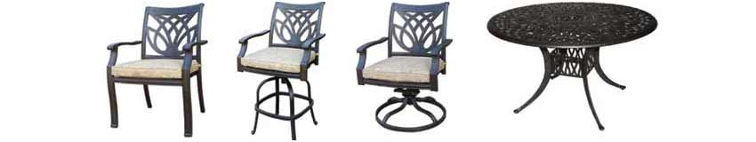 DWL Burlington Patio Chairs & Table