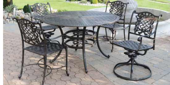 DWL Cambridge Outdoor Dining Set