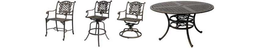 DWL Cambridge Chairs & Patio Table