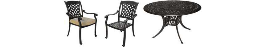 DWL Carlisle Patio Chairs & Table