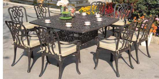 DWL Chatham Patio 8 Person Dining Set