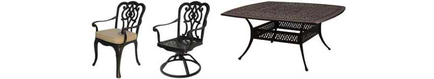DWL Chatham Patio Chairs & Table