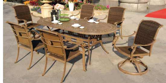 DWL Cornwall Patio Dining Set