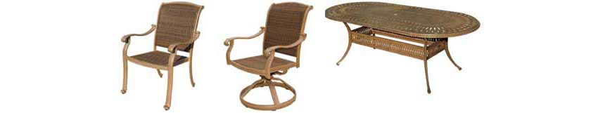 DWL Cornwall Patio Chairs & Table