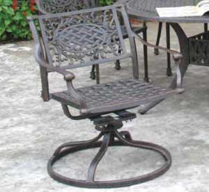 DWL Dublin Swivel Rocker Patio Chair