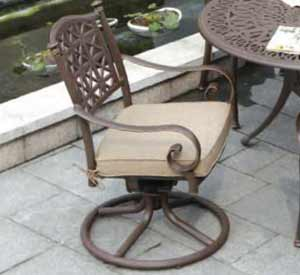 DWL Exeter Swivel Patio Chair