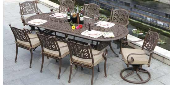 DWL Exeter Patio Dining Set