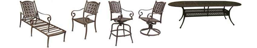 DWL Exeter Patio Chairs & Table