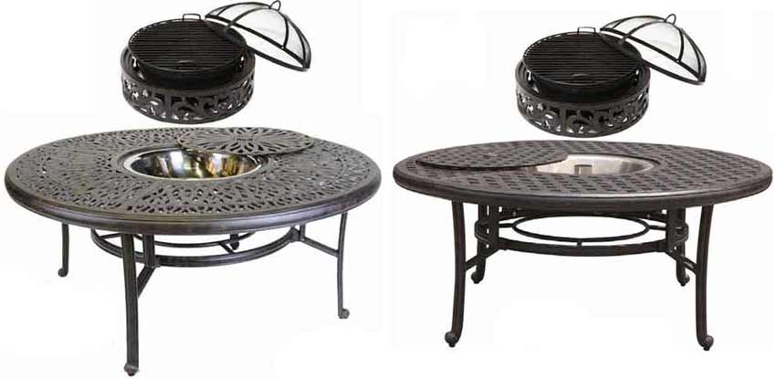 DWL Outdoor Patio Fire Pits
