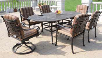 DWL Florence Patio Dining Set