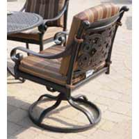 DWL Florence Swivel Rocking Patio Chair