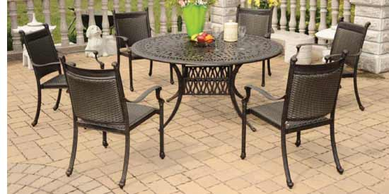 DWL Hudson Patio Dining Set