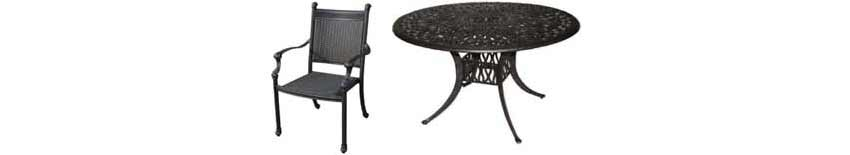 DWL Hudson Patio Chairs & Table