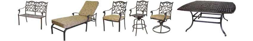 DWL Ivyland Patio Chairs & Tables