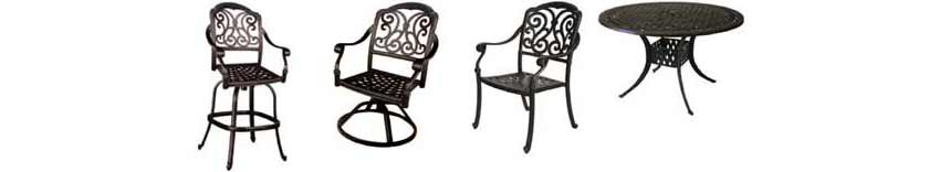 DWL Madison Patio Chairs & Table