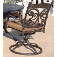 DWL Monarch Patio Swivel Chair