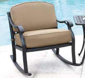 DWL New Providence Patio Rocking Chair