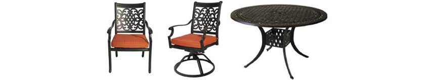 DWL Oxford Patio Chairs & Table