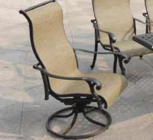 DWL Summit Patio Swivel Chair