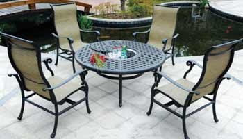 DWL Summit Patio Fire Pit & Chairs