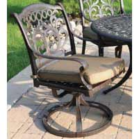 DWL Valencia Patio Swivel Chair