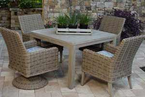 Ebel Laurent Patio Dining Set