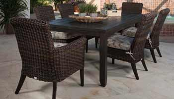 Ebel Provence 6 Seat Dining Patio Set