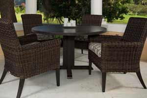 Ebel Provence 4 Chair Patio Dining Set