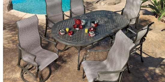 Gensun Bel Air Patio Dining Table