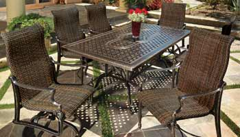 Gensun Bel Air Patio Dining Table