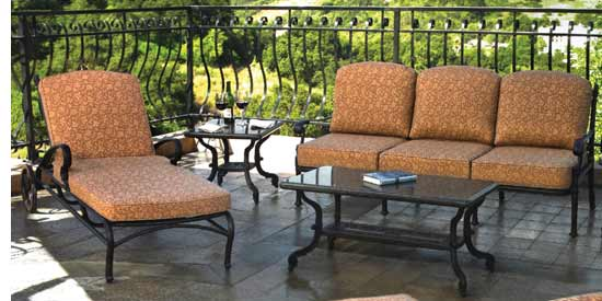 Gensun Florence Patio Loungers