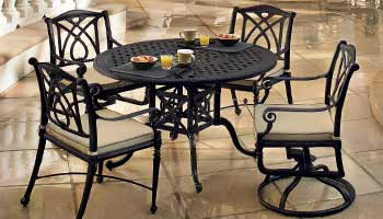 Gensun Grand Terrace Patio Dining Table