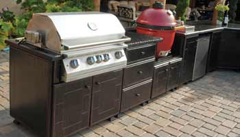 Gensun Grill Patio Set