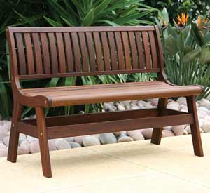Jensen Leisure Amber Patio Bench