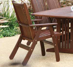 JENSEN LEISURE GOVERNOR PATIO CHAIR