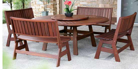 JENSEN LEISURE JADE PATIO DINING SET