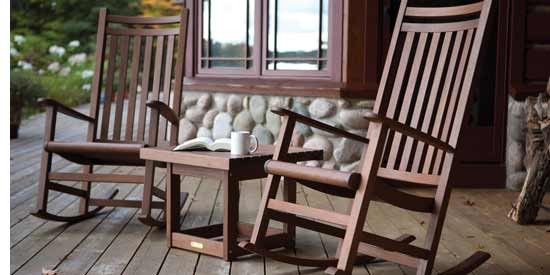 Jensen Leisure Ruby Patio Rocking Chairs