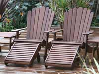 Jensen Liesure Adirondack Patio Set