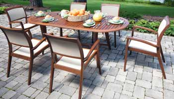 Gentil ... Jensen Leisure Topaz Patio Set ...