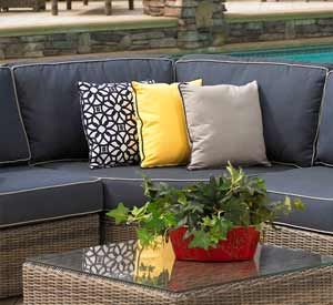 North Cape Bainbridge Patio Couch ...