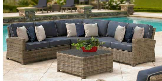 North Cape Bainbridge Patio Sectional