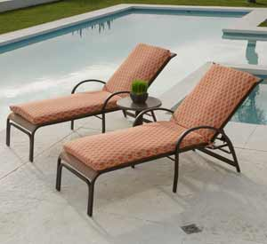 Telescope Aruba Patio Chaise Lounges