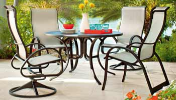 Telescope Aruba Patio Dining Set