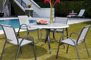 Telescope Aruba Outdoor Dining Set