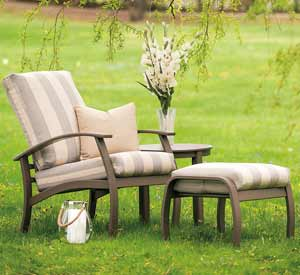Telescope Belle Isle Cushion Patio Set